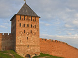 Walls and Tower of Kremlin Photographic Print by Tim Makins