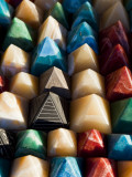 Souvenir Pyramids for Sale at Shop in Sohael Nubian Village Photographic Print by Richard l&#39;Anson