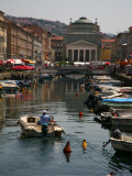 Trieste Grand Canal (Canal Grande) Towards Saint Anthony's Square Photographic Print by Ruth Eastham & Max Paoli