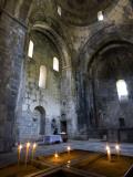 Candles in Sanahin Monastery Church Reproduction photographique par Mark Daffey