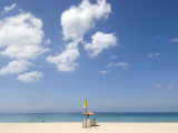 Life Guard on Beach Photographic Print by Austin Bush