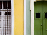Colourful Colonial Doorways in Old San Juan Photographic Print by Rachel Lewis