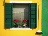 Colourful Houses in Burano Photographic Print by Tony Burns