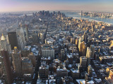 Manhattan from Empire State Building Fotografie-Druck von Richard l'Anson