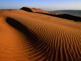 Wind-Sculpted Sand Dunes Photographic Print by Mark Daffey