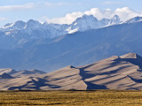 Landscape of Great Sand Dunes National Park and Preserve Photographic Print by Stephen Saks