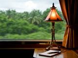 Orient Express Train Interior Fotografie-Druck von Rick Rudnicki