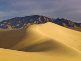 Cadiz Dunes at Sunrise, Ship Mountains in Distance at Mojave Desert Photographic Print by Witold Skrypczak