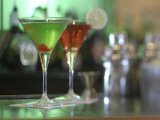 Martinis Photographic Print by Linda Ching