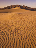 Cadiz Dunes at Sunset, Ship Mountains in Distance Photographic Print by Witold Skrypczak