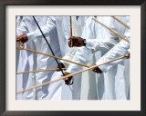 Emirates Arabian Travel Market, Dubai Framed Photographic Print by Kamran Jebreili