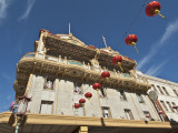 Chinatown Apartment Building Photographic Print by Stephen Saks