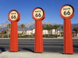 Route 66 Signs Photographic Print by Richard Cummins