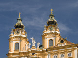 Baroque Monastery Church of Sts Peter and Paul at Baroque Benedictine Abbey Stift Melk Photographic Print by Richard Nebesky