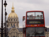 Open Top Tour Bus on Pont Alexandre Photographic Print by Will Salter