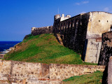 San Cristobal Fort and City Walls Photographic Print by Richard l'Anson