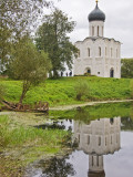 Church of the Intercession of the Nerl, at Bogolyubovo Photographic Print by Tim Makins