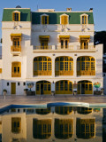Hotel Les Mimosas Reflected in Swimming Pool Photographic Print by Bethune Carmichael