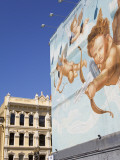 Mural and Historic Building on Sw 2nd Avenue in Waterfront District Photographic Print by Richard Cummins