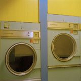Laundry Dryers Photographic Print by Angus Oborn