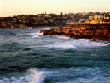 Entrance to Tamarama Bay to Bronte and Nelson Bay, Sunrise Photographic Print by Ross Barnett