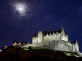 Edinburgh Castle at Night Photographic Print by Sean Caffrey