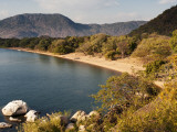 Beach in Lake Malawi National Park, Cape Maclear Photographic Print by Ariadne Van Zandbergen