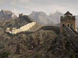 Chinese muur Fotoprint van Sean Caffrey