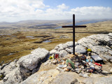War Memorial to Fallen British Soldiers on Mount Tumbledown Photographic Print by Shannon Nace