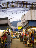 Clothing Market Near Patong Beach Photographic Print by Austin Bush