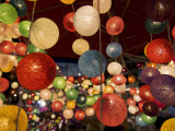 Colourful Fairy Lights Sold at Chiang Mai Night Bazaar Photographic Print by Viviane Ponti