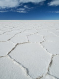 Hexagonal Shapes on Salt Flat Photographic Print by Alfredo Maiquez