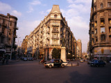 Midan Talaat Harb Intersection in Central Cairo Photographic Print by Anders Blomqvist