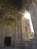 Entrance to Tatev Monastery Fotografiskt tryck av Mark Daffey