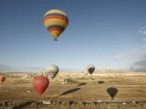 Hot-Air Balloons Ride over Cappadocia Photographic Print by Seong Joon Cho