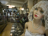 Mannequin and Merchandise Inside Antiguedades El Abuelo Antique Store Photographic Print by Brent Winebrenner