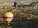 Hot-Air Balloon Rides over Cappadocia Photographic Print by Seong Joon Cho
