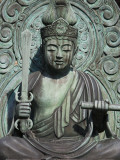 Statue of Buddha at Tenryu-Ji Temple, Sagano District Photographic Print by Brent Winebrenner