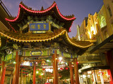 Pagoda in Chinatown Photographic Print by Richard l'Anson