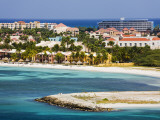Oranjestad Coastline and Beach Photographic Print by Richard Cummins