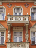 Art Nouveau Facade at Stary Rynek (Old Market Square) Photographic Print by Witold Skrypczak