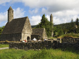 Saint Kevin's Church at Monastic Site Photographic Print by Stephen Saks
