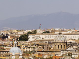Trastevere District from Janiculum Hill Photographic Print by Will Salter