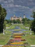 Schlossgarten with Castle in Distance Photographic Print by Witold Skrypczak