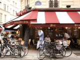 La Pregrille' Restaurant on Rue Saint Severin Photographic Print by Lou Jones