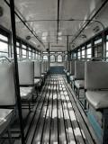 Inside of Bengali Bus Papier Photo par April Maciborka
