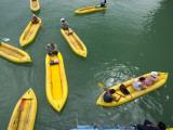 Kayaks on Ao Phang Nga Photographic Print by Austin Bush