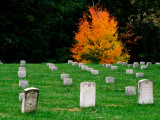 Graves of Union Soldiers at Fredericksburg National Cemetery Photographic Print by Witold Skrypczak