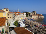 Stari Grad (Old Town) Beach and Citadel Photographic Print by Richard l'Anson