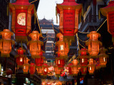 Lantern Festival at Yuyuan Bazaar Photographic Print by Richard l&#39;Anson
